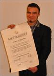 Tobias Herrmann, Inhaber Herrmann Fahrzeugtechnik, Werkstatt Kieselbronn